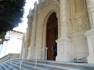 mission dolores basilica entrance