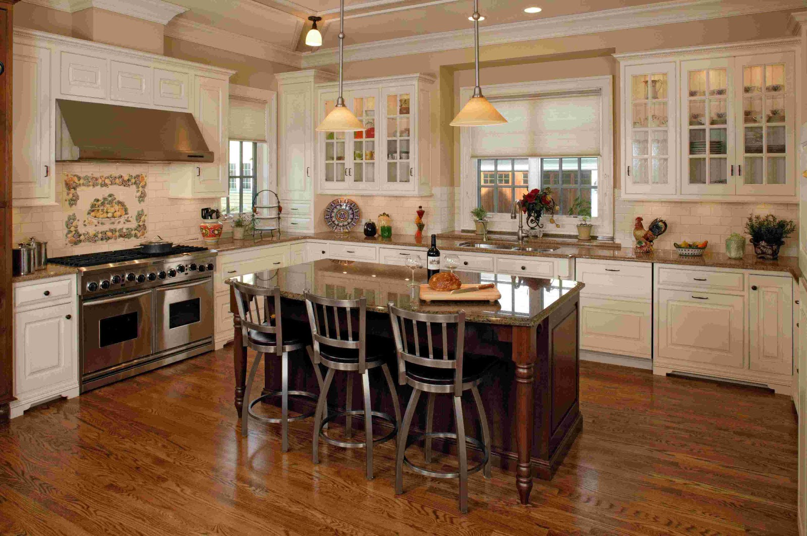 Booth Style Kitchen Table | Booth Veneers Pic