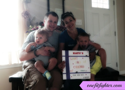 cancerversary, hodgkins lymphoma survivor, katy ursta, beachbody coach