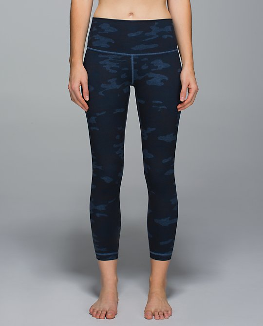 lululemon lotus camo high time pant