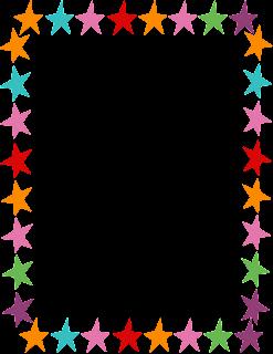 Star writing paper