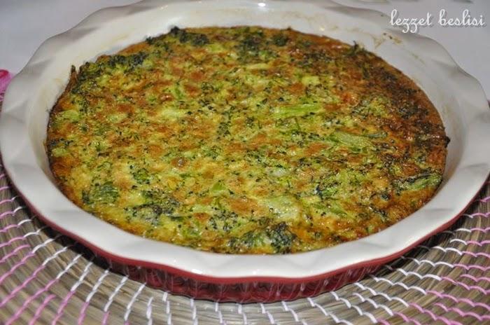 Kolay Brokolili Tart