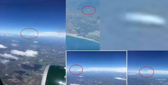 Αναφορές αυτοπτών μαρτύρων απο  αεροπλάνο για UFO πάνω από το Λος Άντζελες (vid)