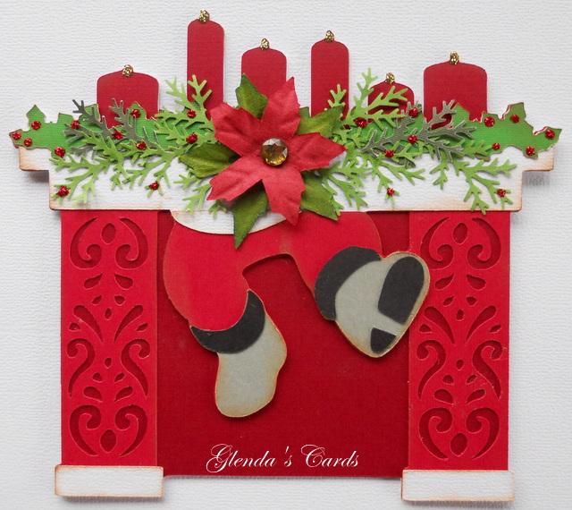 Christmas Chimney Paper