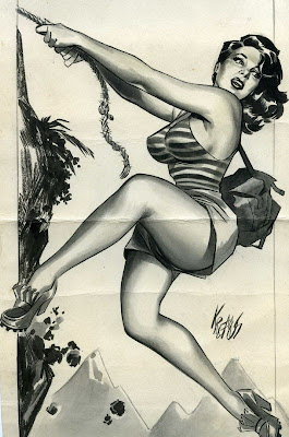 Vintage Cartoon Pinups by Niso Ramponi (aka Kremos)