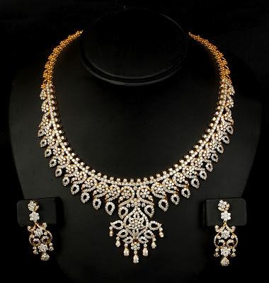 VBJ Diamond Necklace Models