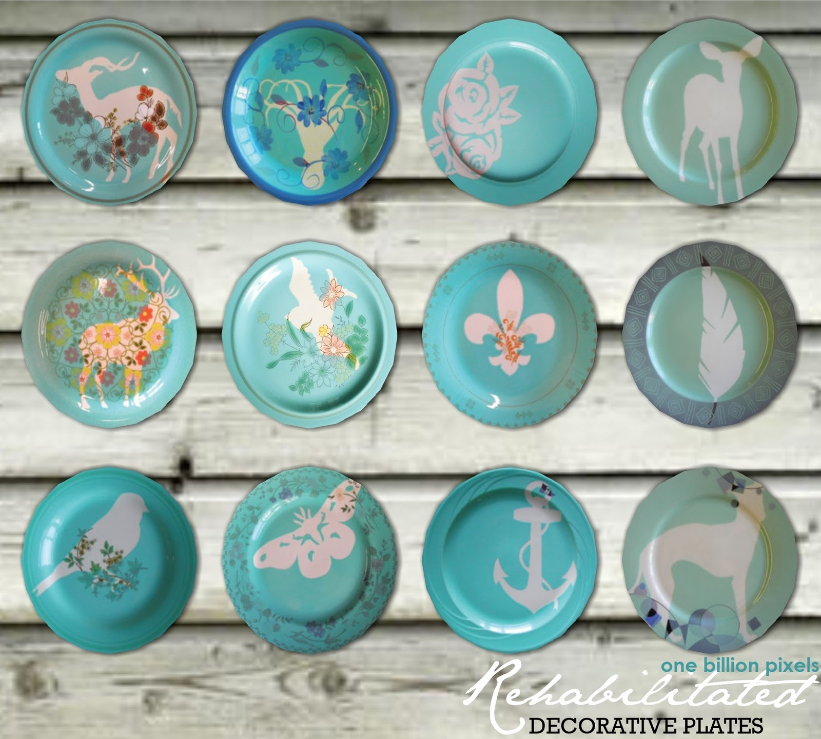 55 non default decorative plates updated now with slots for Decoration plater