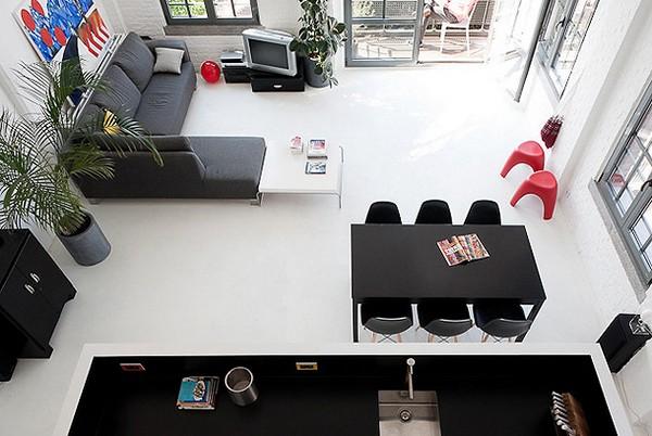 Casa minimalista de colores contrastantes ideas para for Colores para casas minimalistas