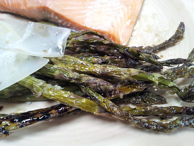... ™: roasted asparagus with balsamic and parmigiano reggiano cheese