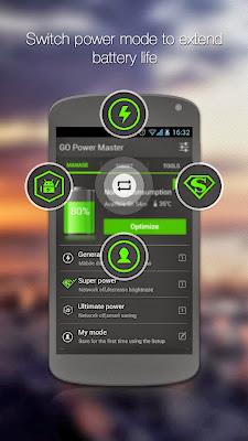 GO Battery Saver &Power Widget app screenshoot