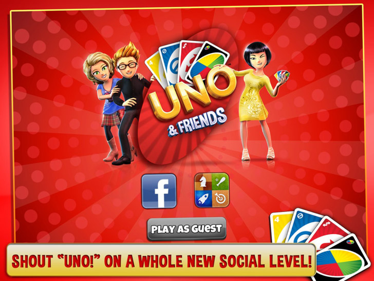 UNO & Friends – The Classic Card Game Goes Social! App iTunes App By Gameloft - FreeApps.ws