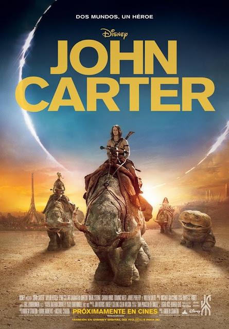Cartel cine John Carter
