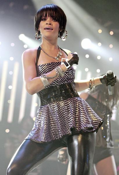 Rihanna wearing Jenny Dayco jewelry