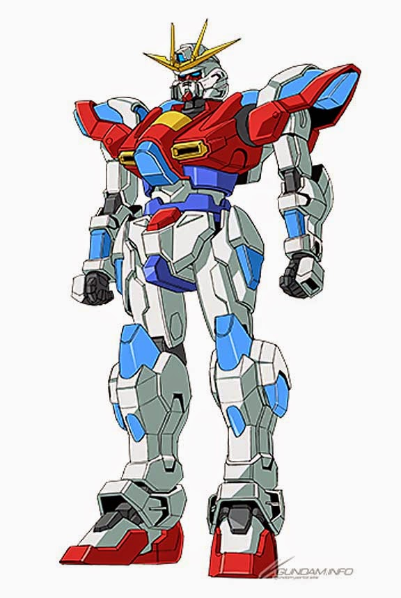 Gundam guy gundam build fighters try new mobile suits for Domon kasshu build fighters try