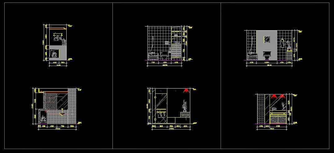 Cad drawings free download bathroom blocks cad drawings download - Cad bathroom design ...