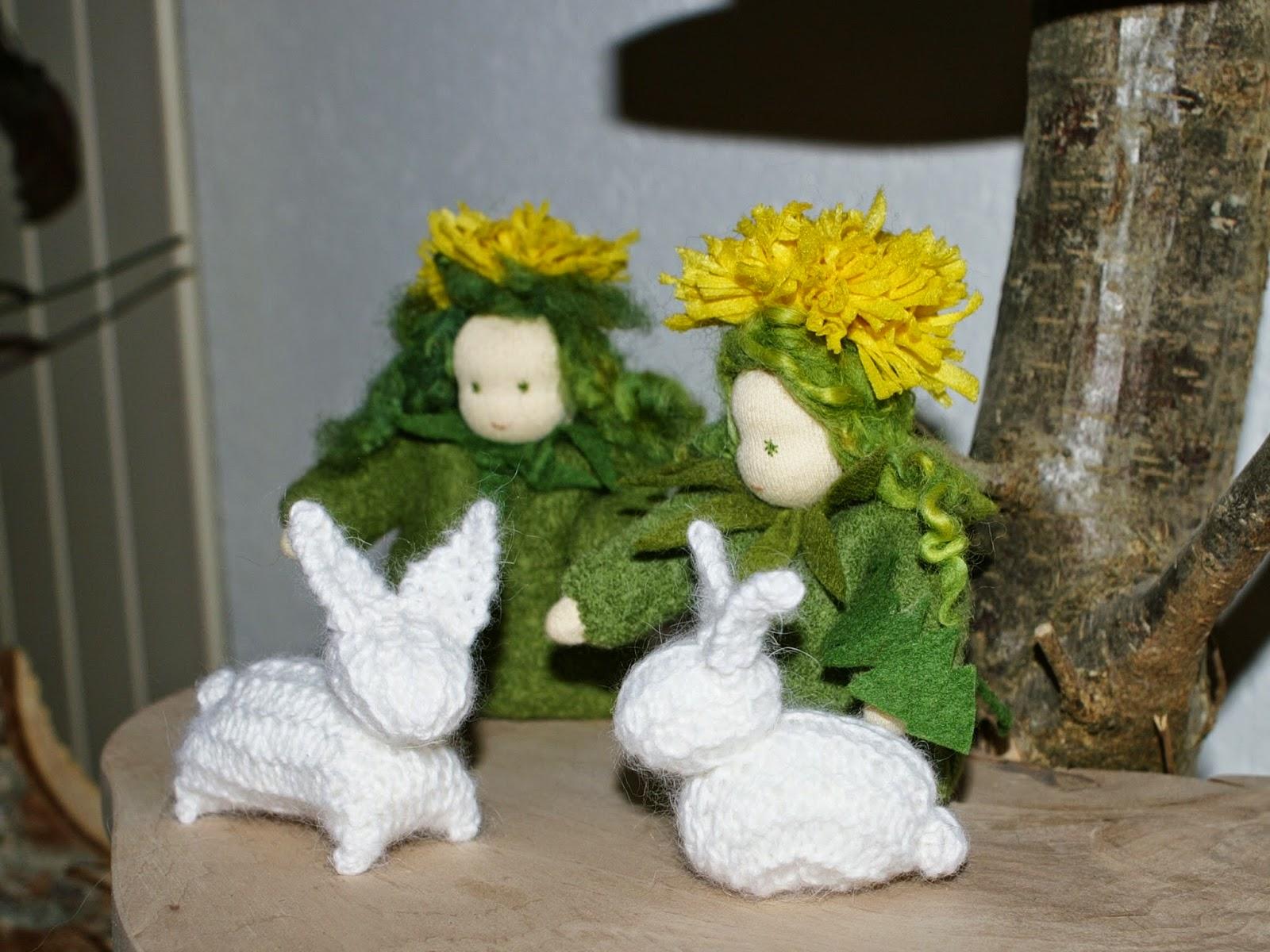 Hasen stricken für Ostern kostenlose Anleitung