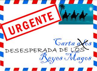 carta desesperada de los Reyes Magos