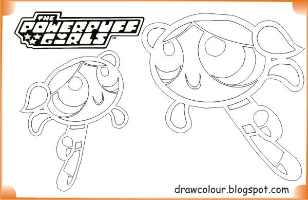 printable-the_powerpuff_girls-bubbles-coloring-pages