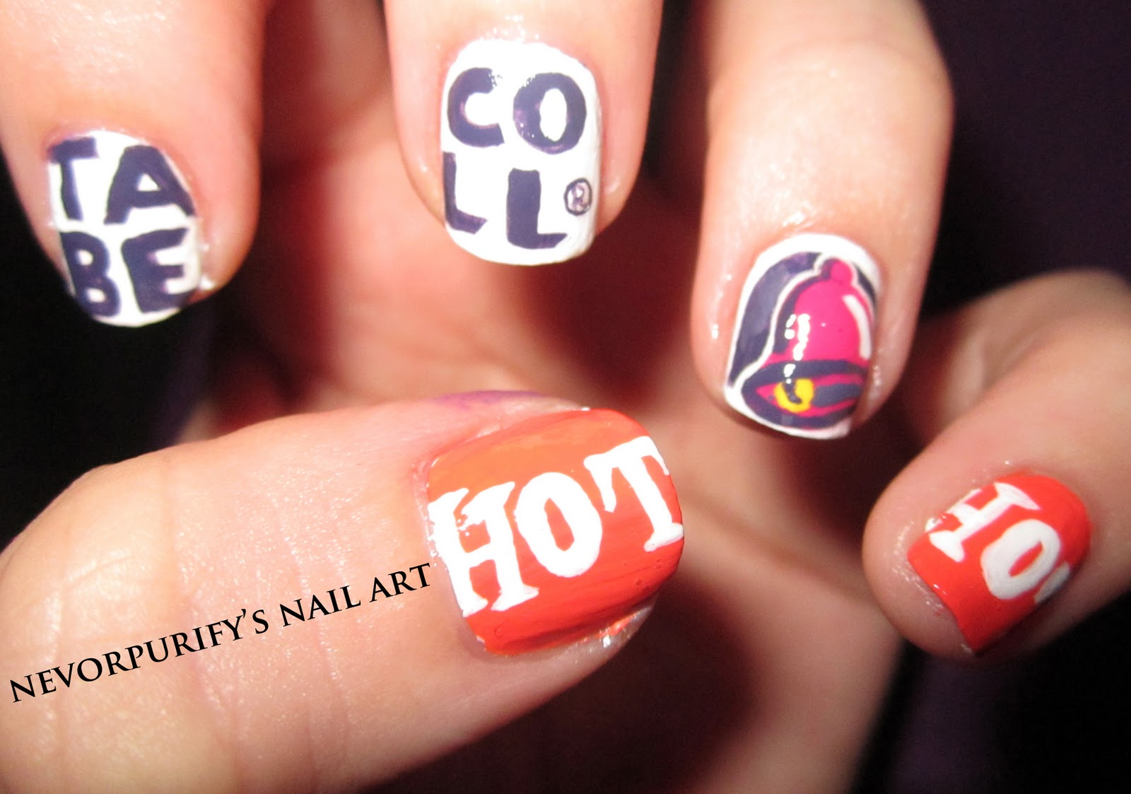What Else Would I Be For Halloween...? | Nevorpurify\'s Nail Art