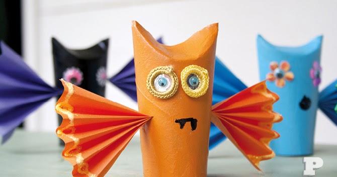 Riciclo Creativo per Bambini: Lavoretti con Rotoli di Carta Igienica