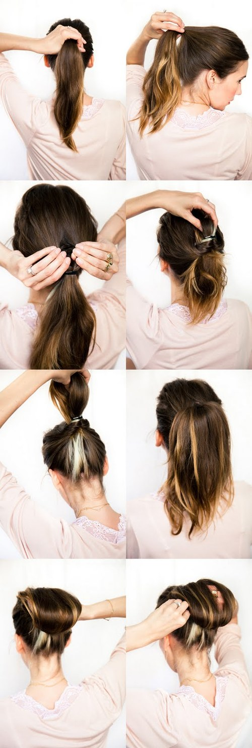 How To Do Hair Style Hair Twist Updos Braids Pony Flowers 13 Jpg