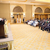 More photos: Buhari meets with Nigerians in Dubai, ministers sign agreement with UAE govt