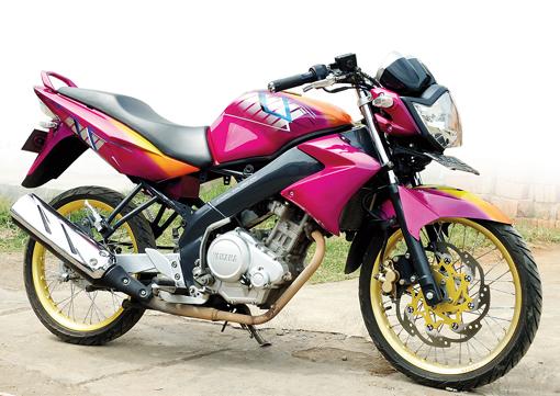 Modif Yamaha Vixion 2012