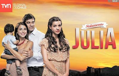 Solamente Julia capítulo 63 telenovela chilena