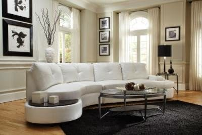 Curved Conversation Sofa