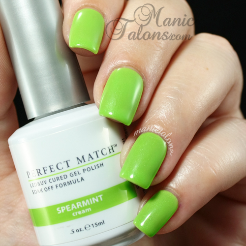LeChat Spearmint Swatch