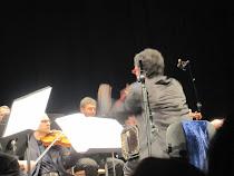 Gli scatti per Daniele Di Bonaventura: bandoneon con orchestra.