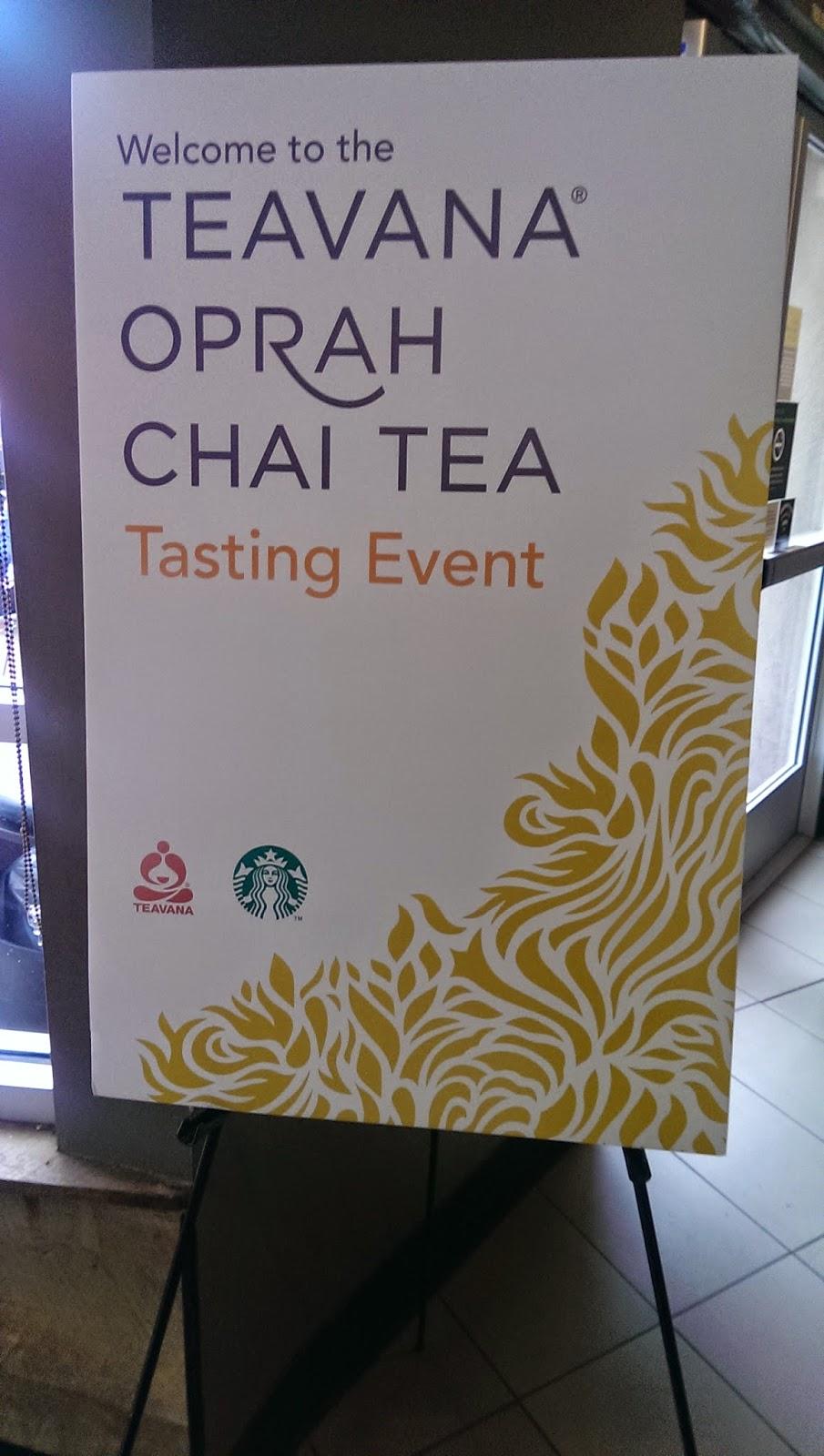 Teavana+Oprah+Chai+Tea+Event Teavana Oprah Chai Tea Tasting Event- Oprah Teavana Starbucks