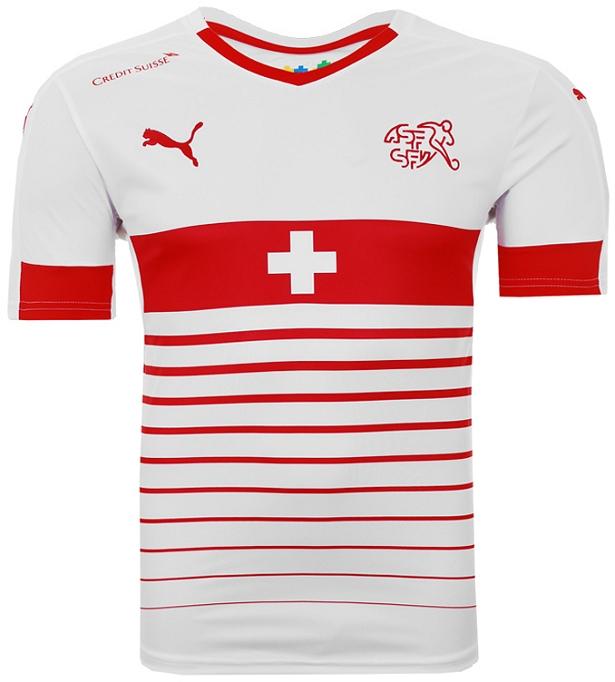 80b48704f2 Puma apresenta nova camisa reserva da Suíça - Show de Camisas