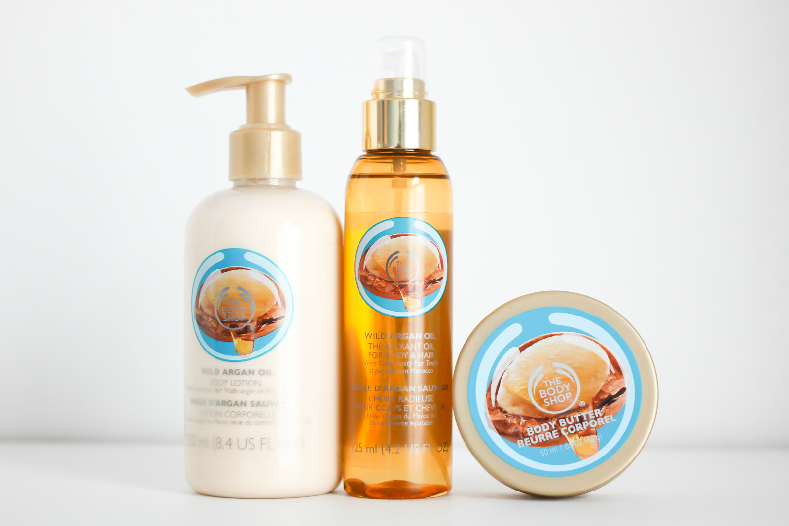 The Body Shop's Wild Argan Oil Collection | A Girl, Obsessed