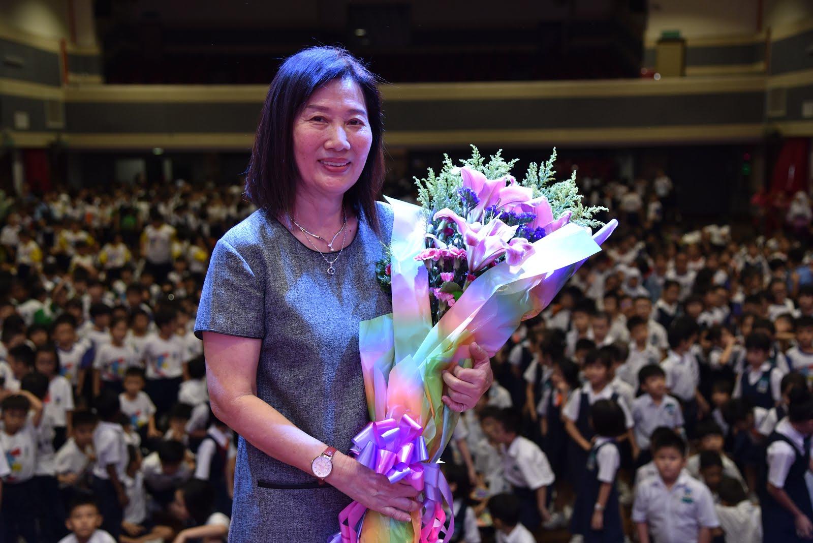 郑雪娟老师荣休仪式