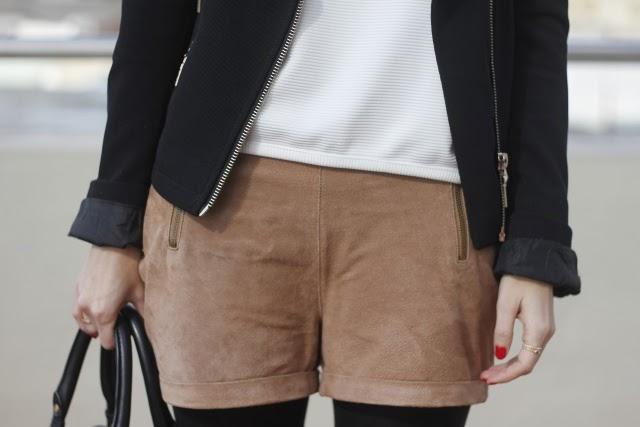 Shorts de ante. Bolso Marc Jacbos. A trendy life