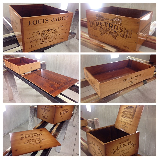 Wooden wine boxes wine crates 10 interesting wine What to do with wine crates