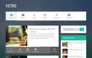 55 Best Free Responsive Blogger Templates