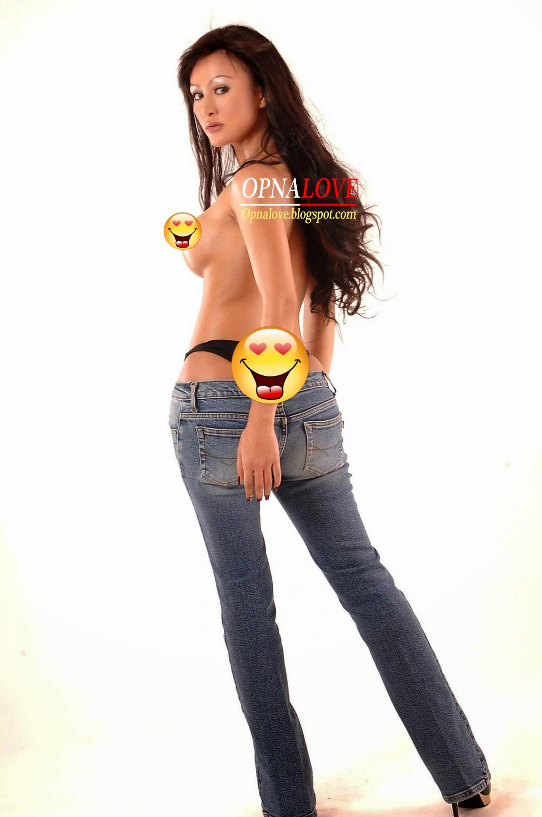 Foto Topless Model Playboy Artis Indonesia - Cynthiara Alona Naked