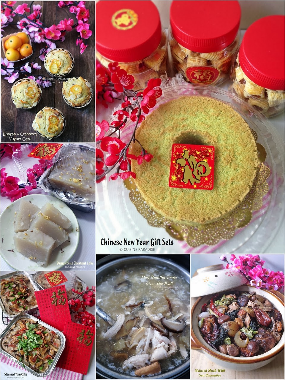 Cuisine paradise singapore food blog recipes reviews and with recipes our chinese lunar new year goodies forumfinder Images