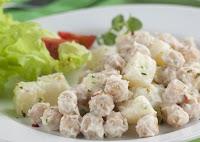 Maionese Prática de Grão-de-Bico (vegana)