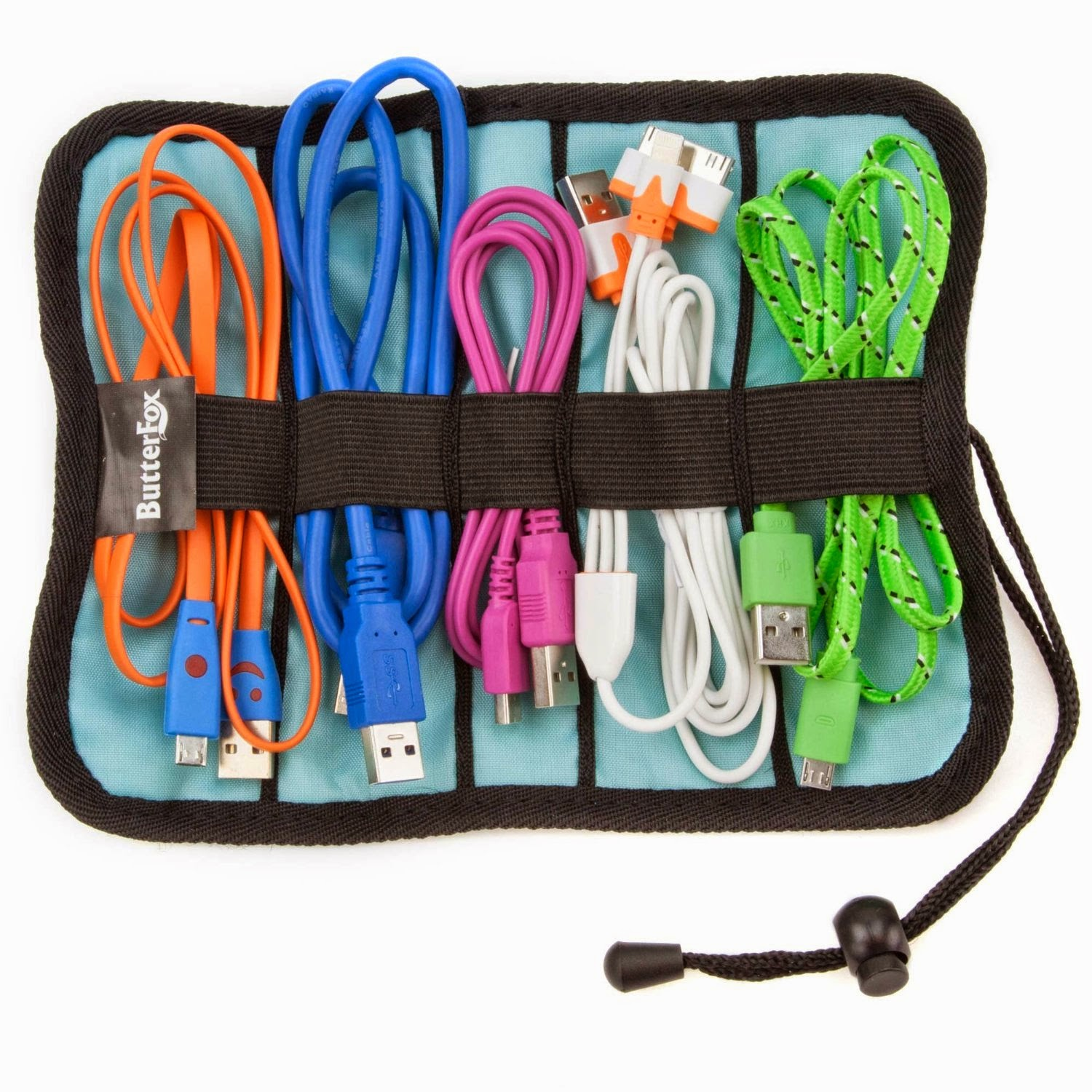 Organized Gift Idea for Father's Day - cord organizer :: OrganizingMadeFun.com
