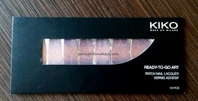 Notd: Nail Patch Ready to Go Art Glitter Gradiation Purple - Kiko