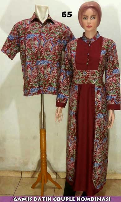 Jual batik sarimbit couple murah modern dan gaya
