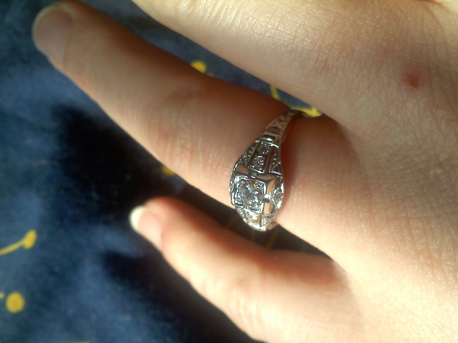 The Etiquette Of Engagement Rings New Orleans