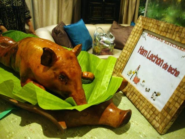 Hayop na Degustacion Ham Lechon de Leche