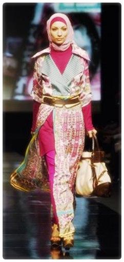 Koleksi model baju muslim terbaru 2013