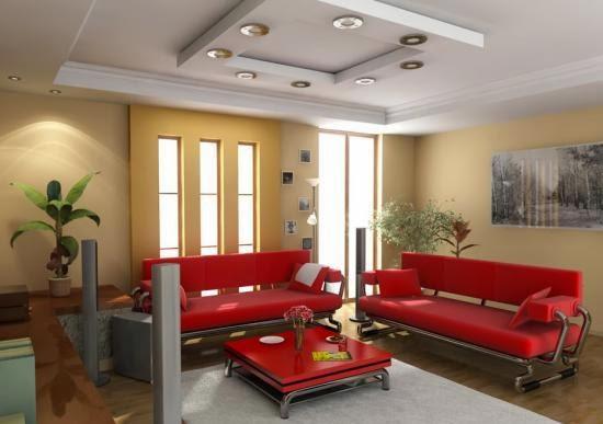 dekorasi ruang tamu nyaman