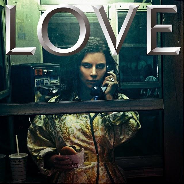 Kim Kardashian Love Magazine