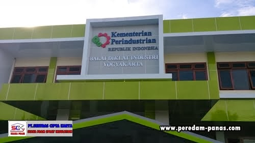 Kantor Balai Diklat perindsutrian Yogyakarta